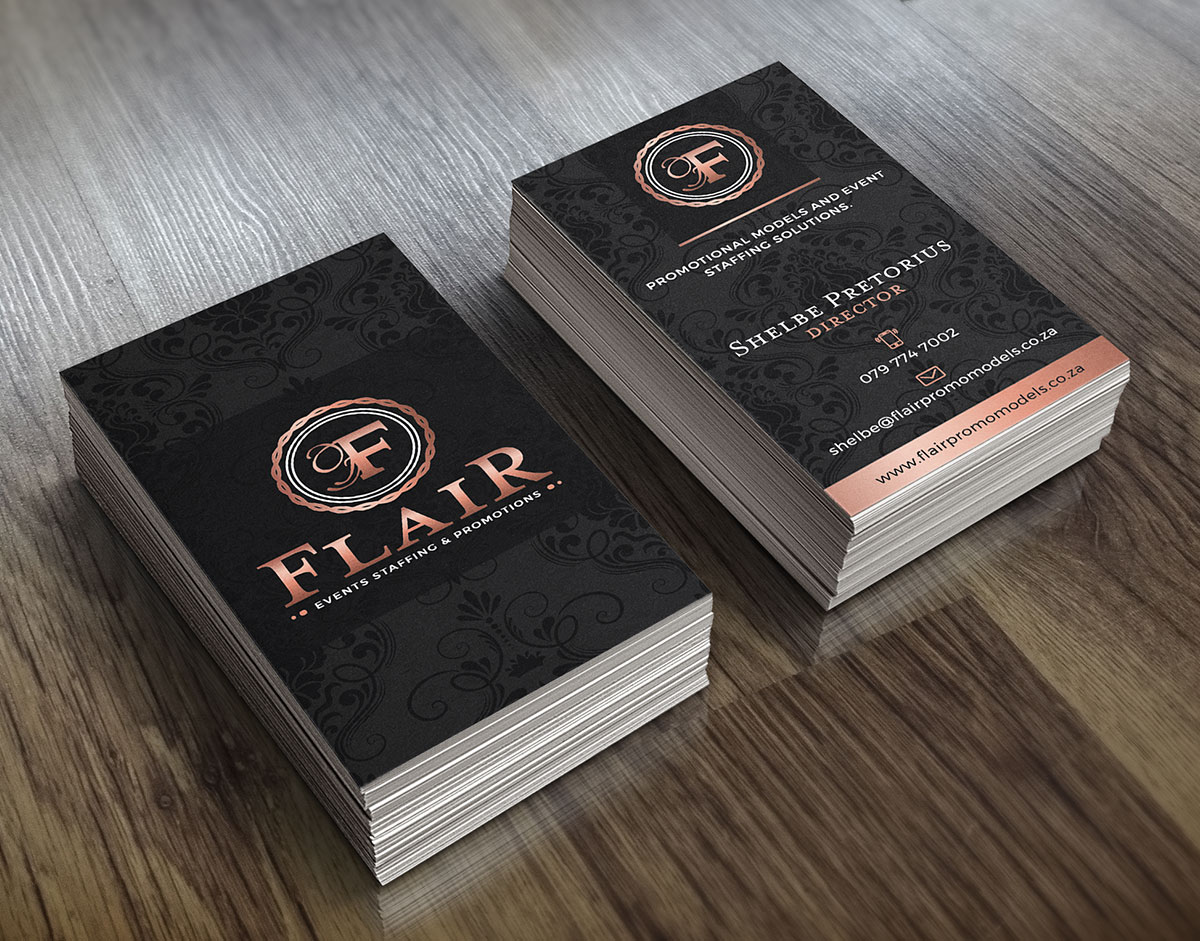 flair business cards | Flair Promo Models