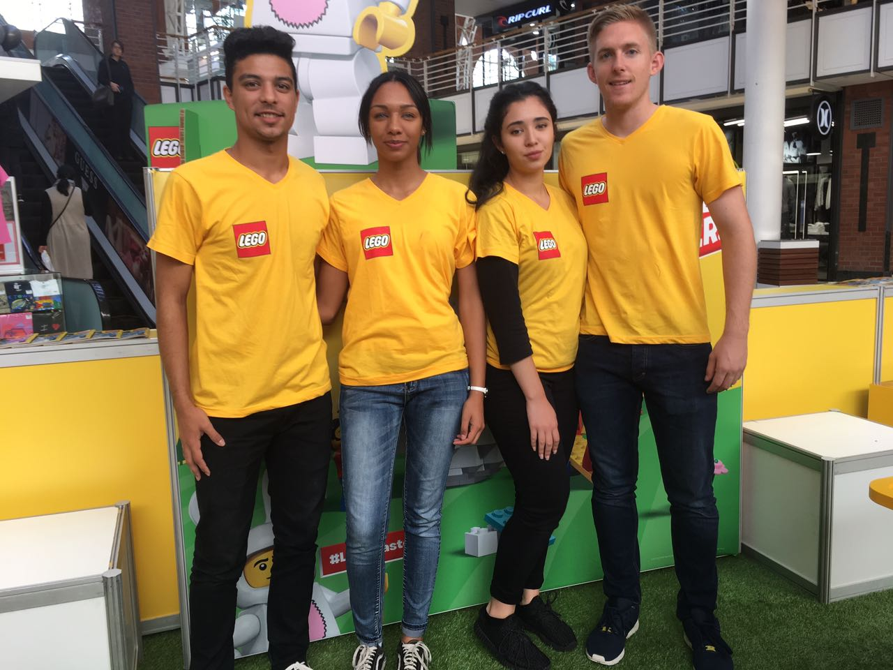 Lego activation staff