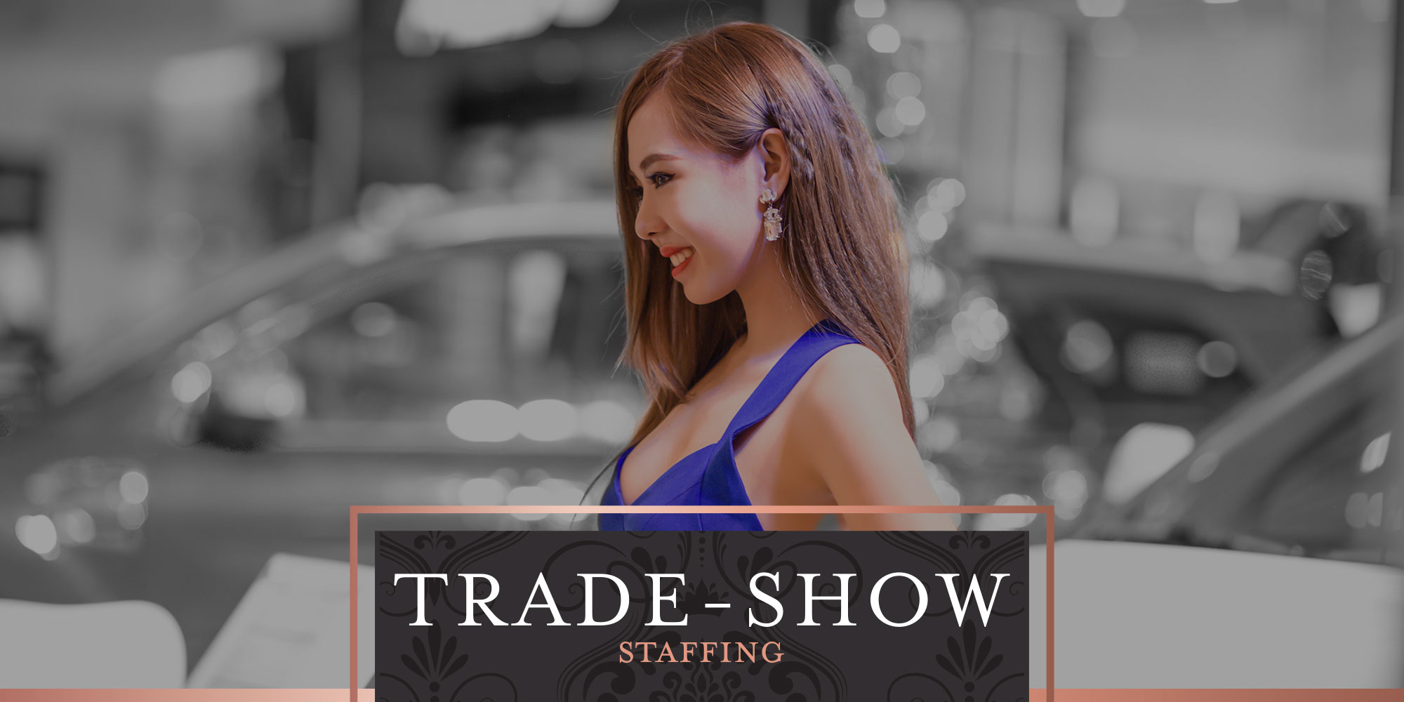 Trade-Show Staffing, exhibition staffing, road show models and promoters